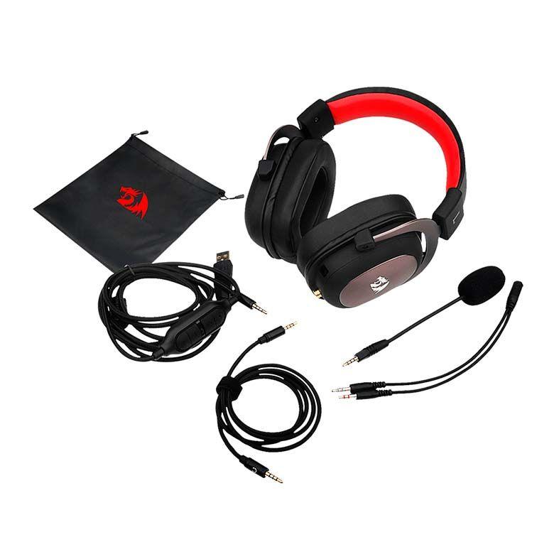 Headset Redragon Zeus 2 gaming - Preto (H510-1)