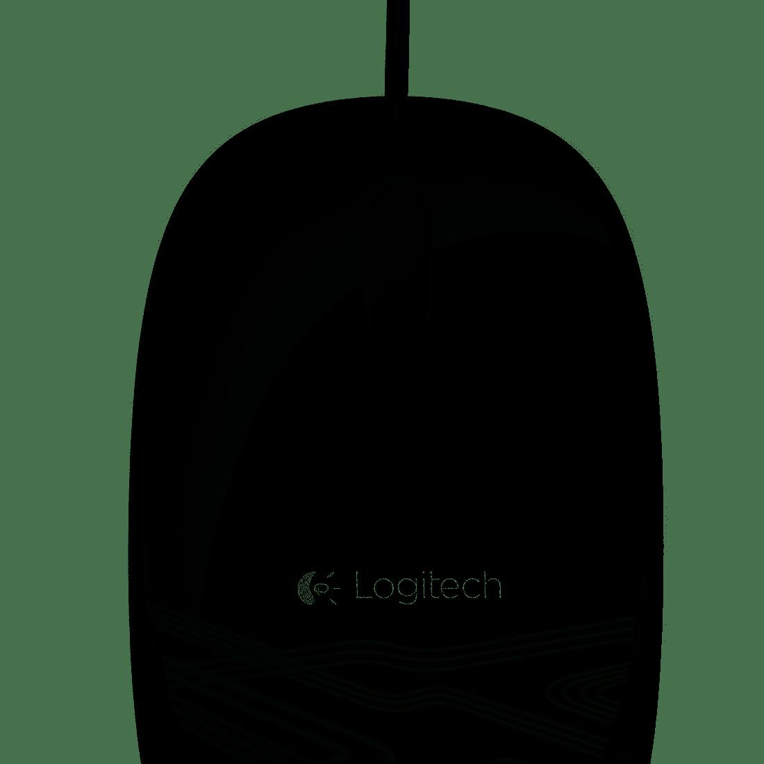 Mouse com fio USB Logitech M105