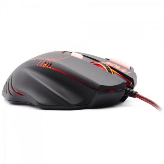 mouse fortrek gamer spider venom om704 usb