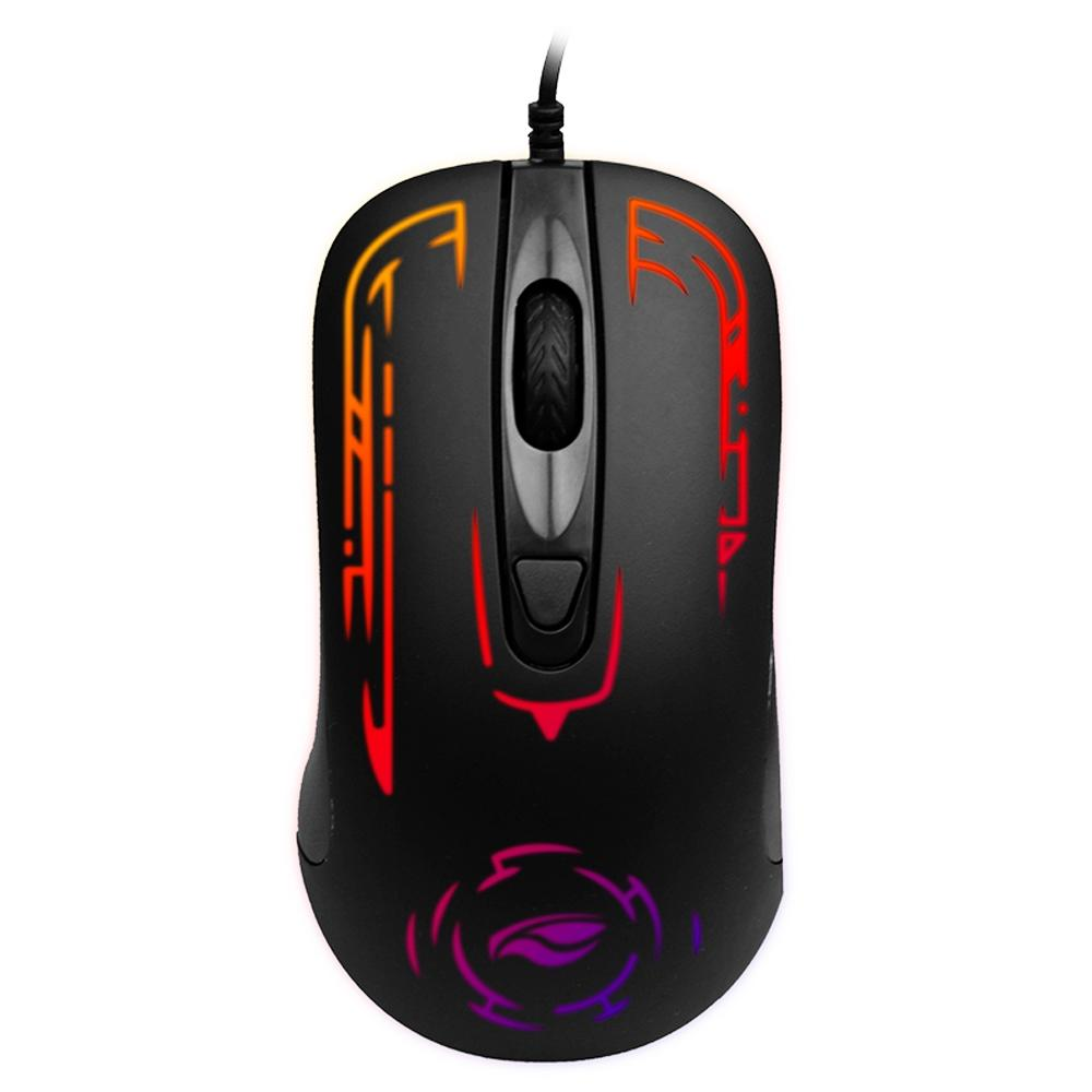 Mouse Gamer C3Tech Gaming, LED, 4 Botões, 2400DPI - MG-12