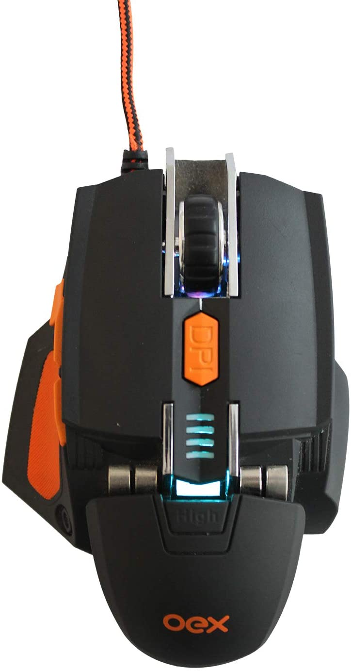 MOUSE GAMER CYBER 5200 DPI MS306