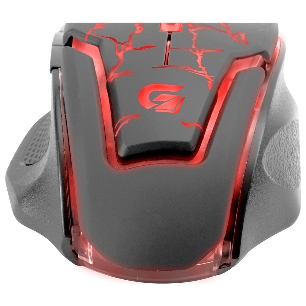 Mouse Gamer Fortrek Spider 2 USB 6 Botões 3200DPI OM705