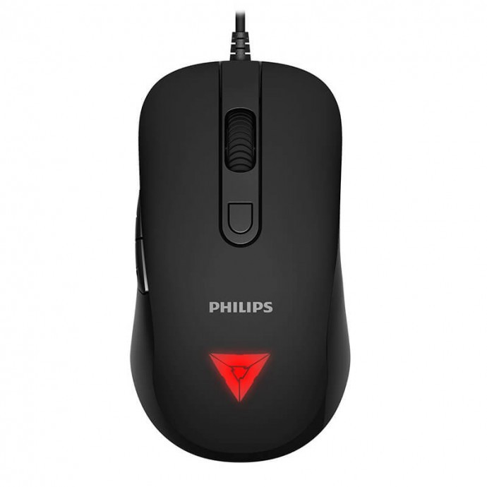 Mouse Gamer USB Com Fio M223 6400 DPI Macro Philips - SPK7223B