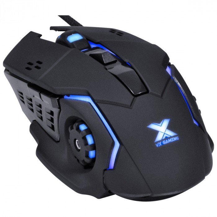MOUSE GAMER VX GAMING GALATICA 2400 DPI LED AZUL