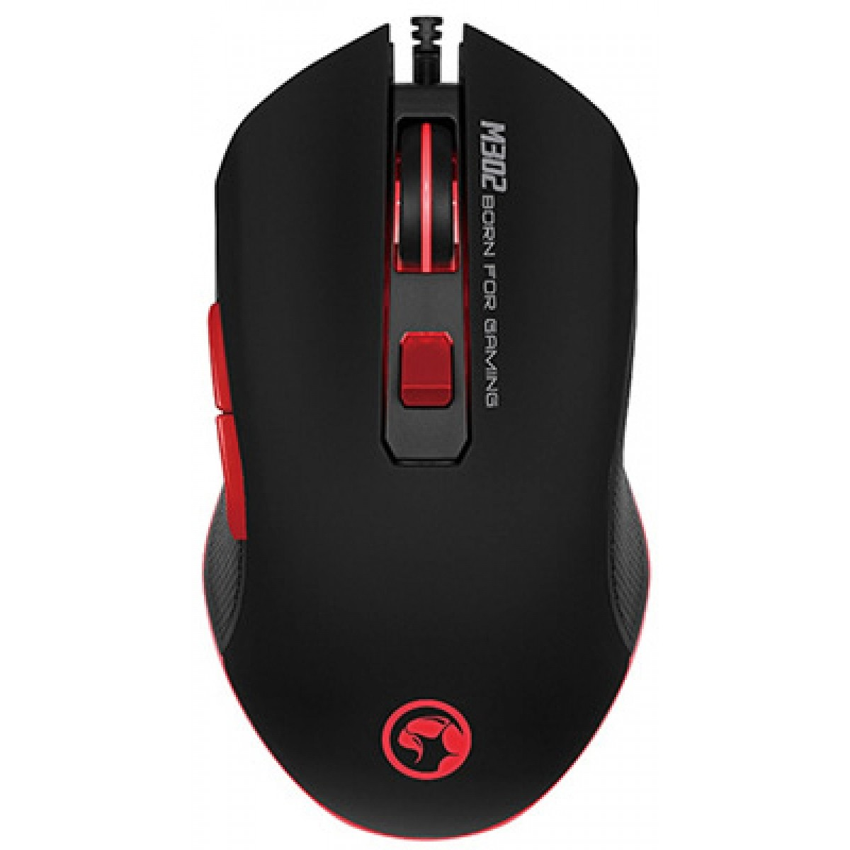 Mouse Marvo Gamer M302 Wired 6 Botões 3200 DPI LED Rainbow
