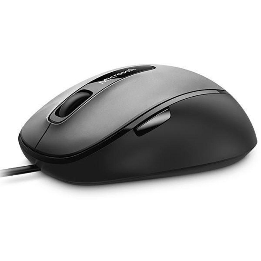 Mouse Microsoft 4EH-00004 USB 1.000 DPI - Preto