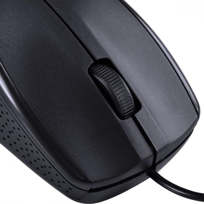 MOUSE OPTICO CORP 1000 DPI CABO USB 1.8M PRETO - CM100
