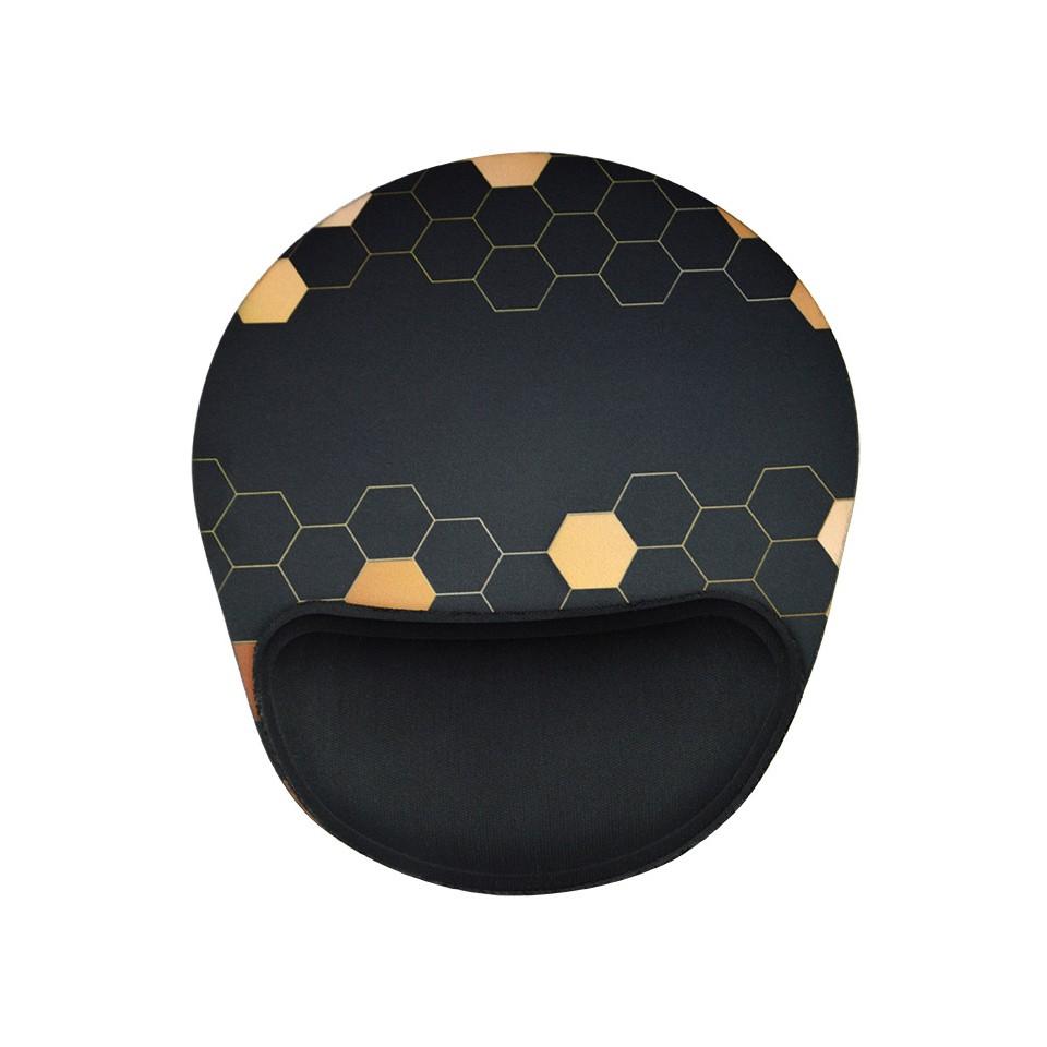 Mouse Pad Ergonômico Reliza Confort – Gold Honey