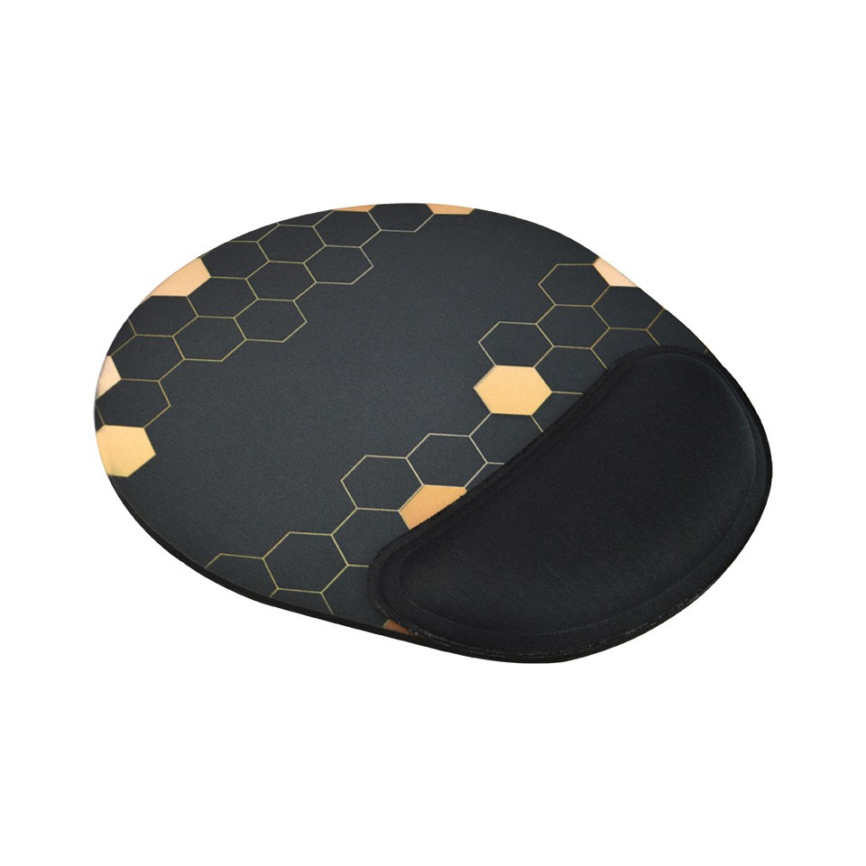 Mouse Pad Ergonômico Reliza Confort – Gold Honey