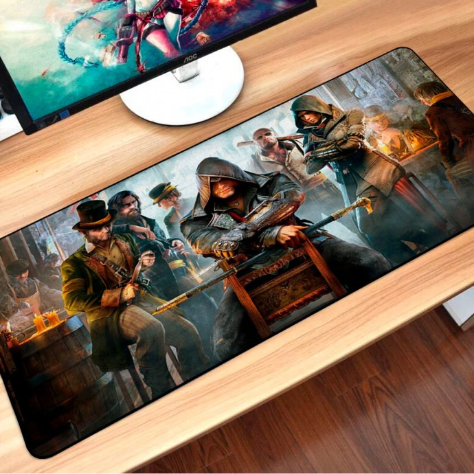 Mouse Pad Gamer Assassin's Creed Syndicate Extra Grande Exbom - MP-9040A10