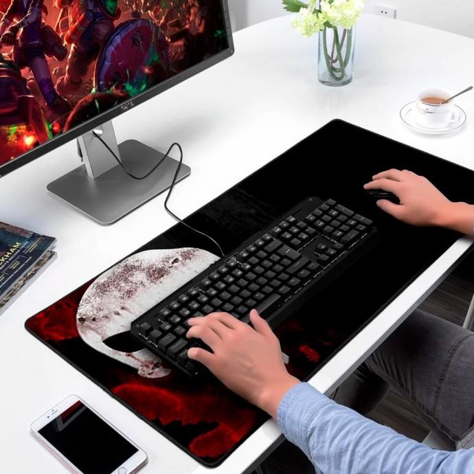 Mouse Pad Gamer Personalizado Extra Grande Bandeira do Crânio Exbom - MP7035C21
