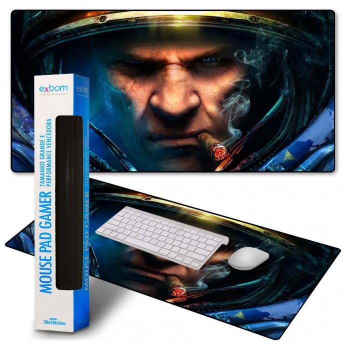 Mouse Pad Gamer Personalizado Extra Grande Exbom - MP-9040A08