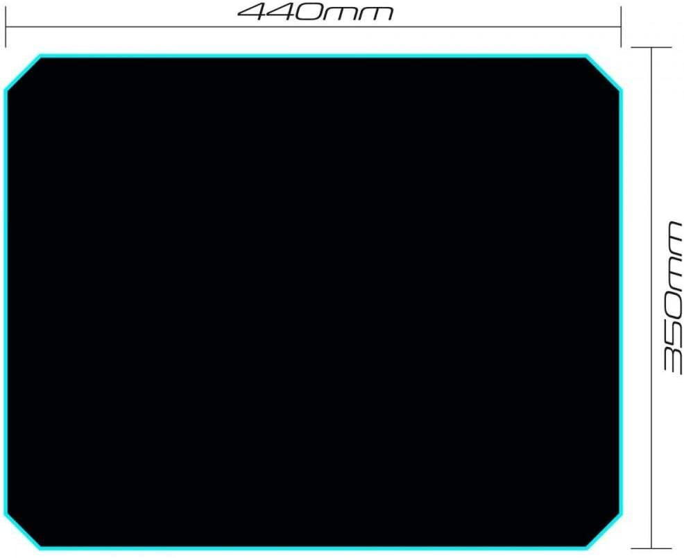 Mouse Pad Gamer SPEED MPG102 Preto FORTREK