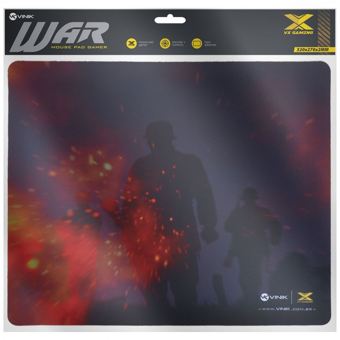 MOUSE PAD VX GAMING VINIK WAR - 320X270X2MM