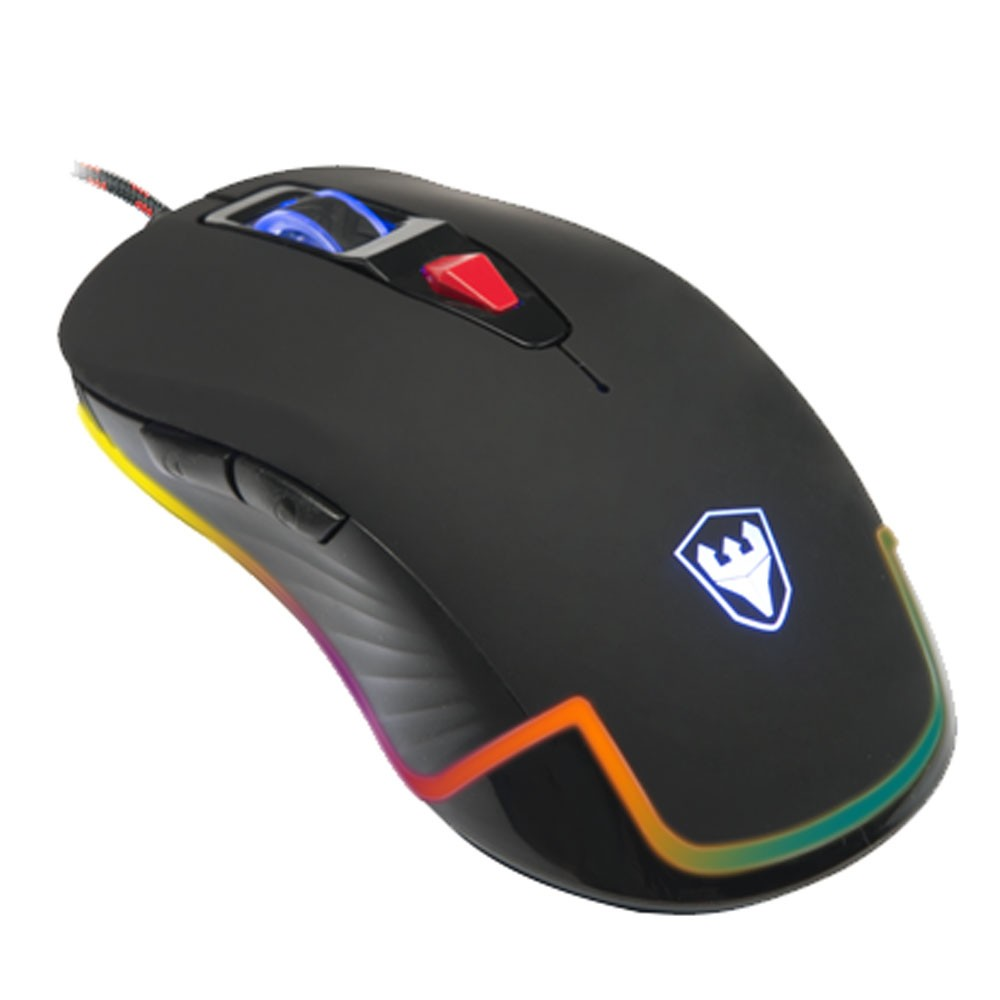 Mouse Satellite Gaming Opitical A-94 7 Cores Led / 6 Botões