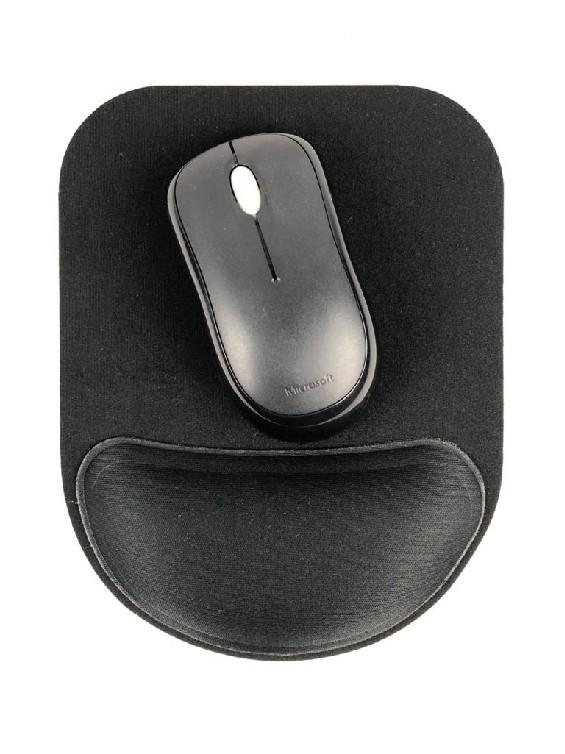 Mousepad Ergonômico Compact – Preto
