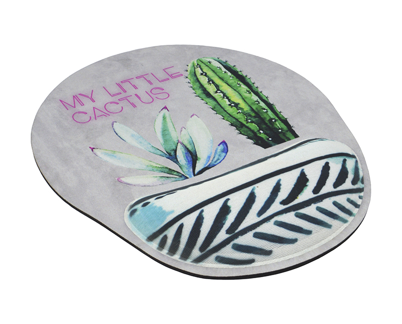 Mousepad Ergonômico Confort Fun – Cactus