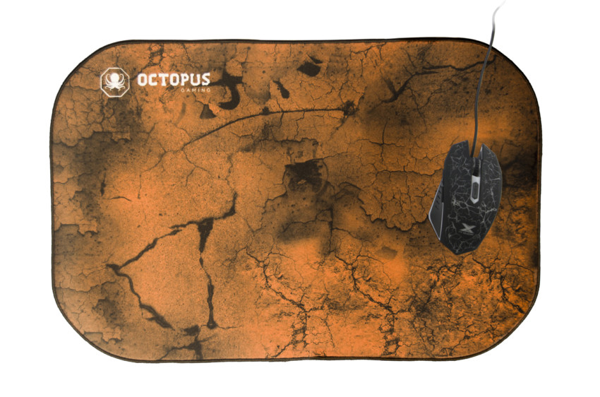 MOUSEPAD GAMER OCTOPUS GIANT (45x30 CM) - EARTH