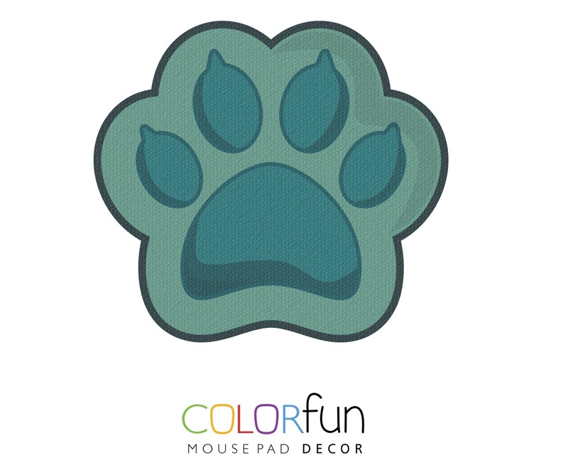 Mousepad / Imã Decorativo ColorFun – Cat Paw