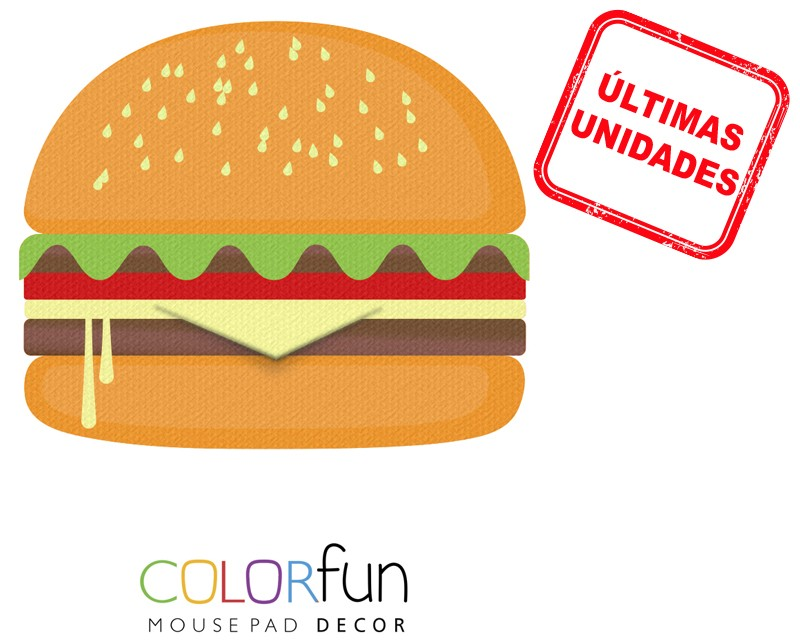 Mousepad / Imã Decorativo ColorFun – Cheeseburguer