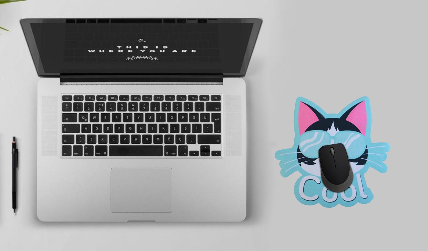 Mousepad / Imã Decorativo ColorFun – Cool