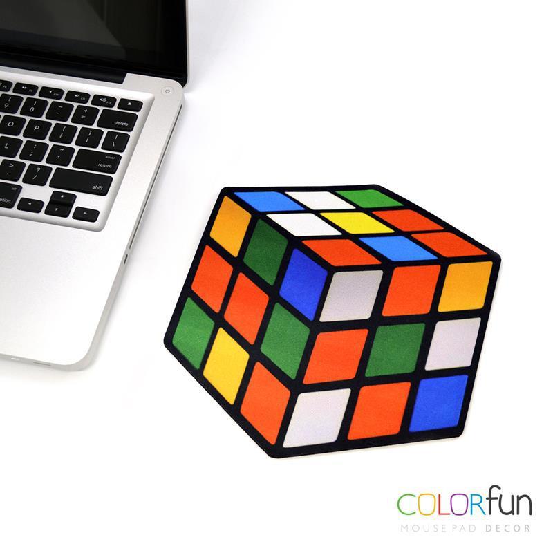 Mousepad / Imã Decorativo ColorFun – Cubo Mágico