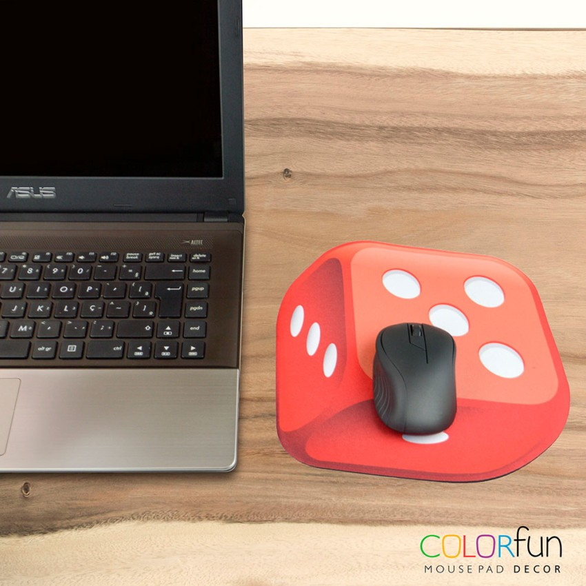 Mousepad / Imã Decorativo ColorFun – Dado