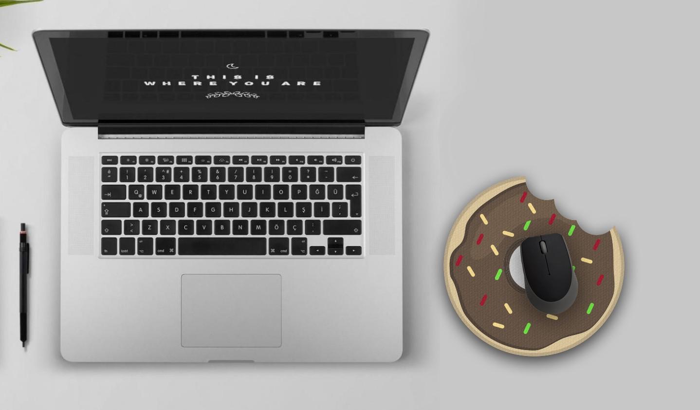 Mousepad / Imã Decorativo ColorFun – Donut