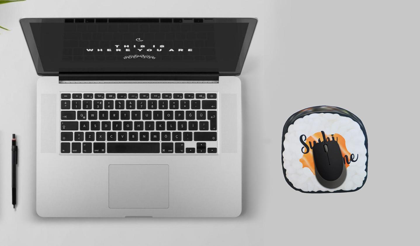 Mousepad / Imã Decorativo ColorFun – Sushi