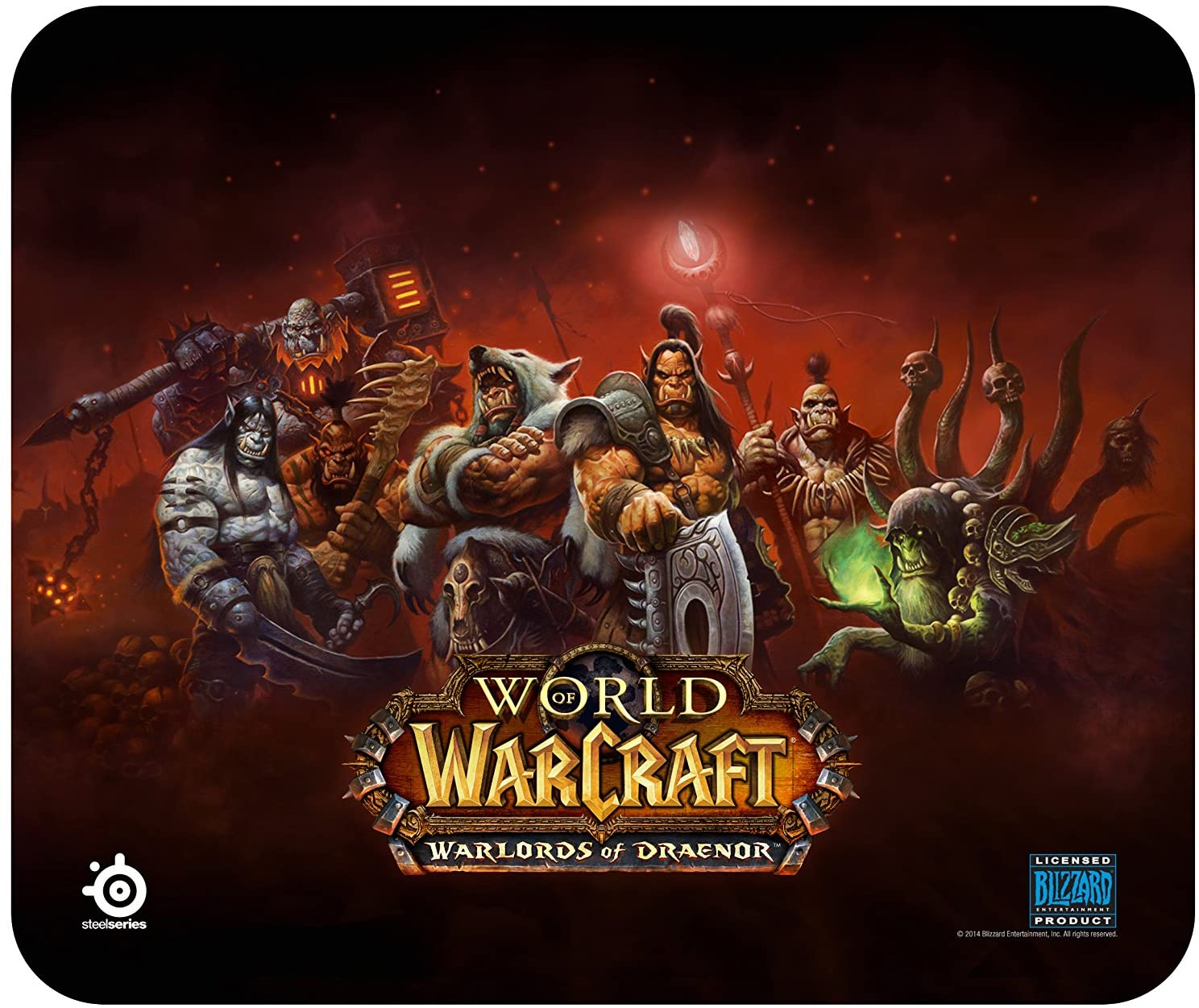 MOUSEPAD STEELSERIES WORLD OF WARCRAFT WARLORDS OF DRAENOR
