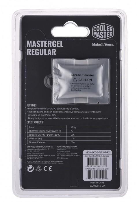 PASTA TERMICA MASTERGEL REGULAR - MGX-ZOSG-N15M-R2