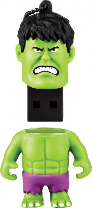 PEN DRIVE MARVEL HULK 8GB PD082 - MULTILASER