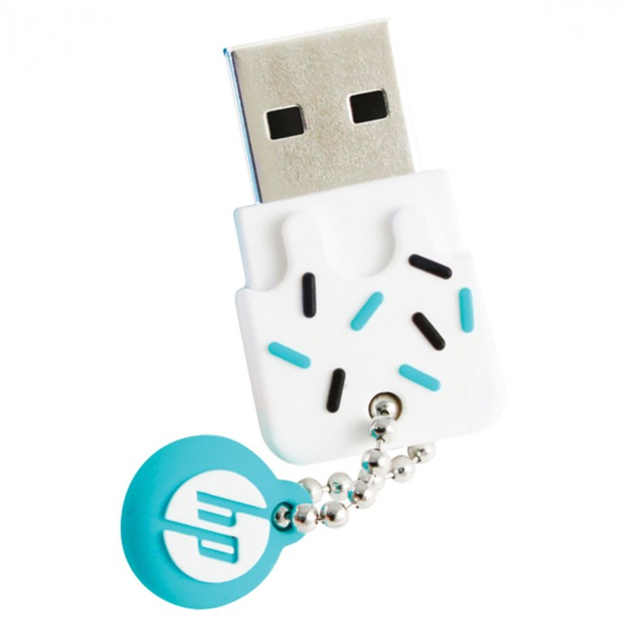 PEN DRIVE MINI HP USB 2.0 V178B 32GB AZUL HPFD178B-32