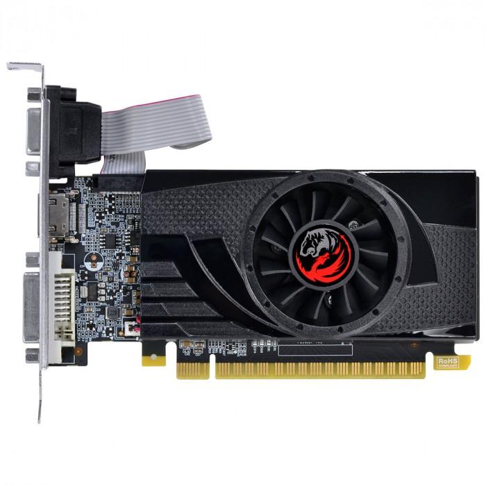 PLACA DE VIDEO NVIDIA GEFORCE GT 730 GDDR5 4GB 64BITS LOW PROFILE COM KIT INCLUSO - PA7304DR564LP