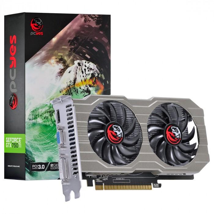 PLACA DE VIDEO NVIDIA GEFORCE GTX 750 TI 2GB GDDR5 128 BITS DUAL-FAN - PA75012802G5