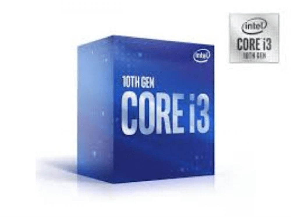 PROCESSADOR CORE I3 INTEL (68631-3) BX8070110100 QUAD CORE I3-10100 3.60GHZ 6MB CACHE COM VIDEO 10GER