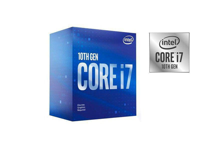 PROCESSADOR CORE I7 INTEL (79806-9) BX8070110700F OCTA CORE I7-10700F 2,90GHZ 16MB CACHE SEM VIDEO LGA1200