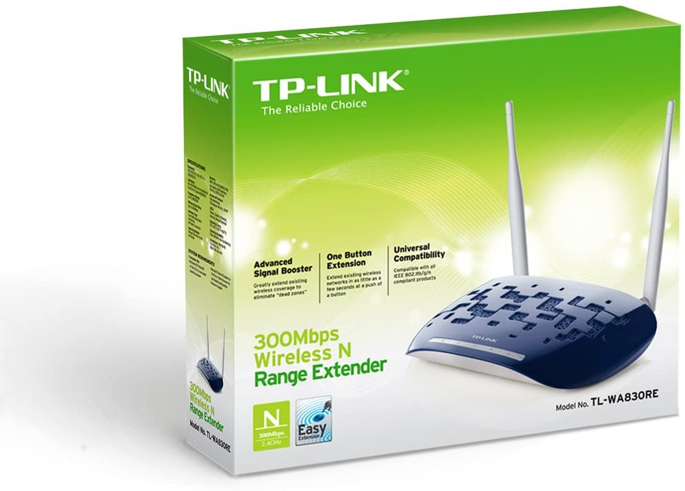 Roteador/Acess Point Tp-Link TL-WA830RE 300MBPS Rage Extender