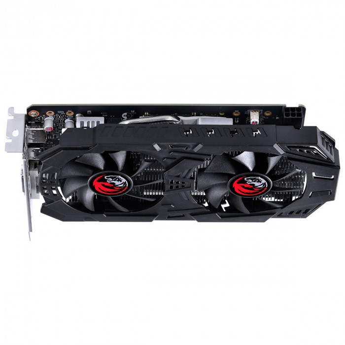 PLACA DE VIDEO NVIDIA GEFORCE GTX 1650 SUPER 4GB GDDR6 128 BIT DUAL-FAN GRAFFITI SERIES - PA16504DR6128FS