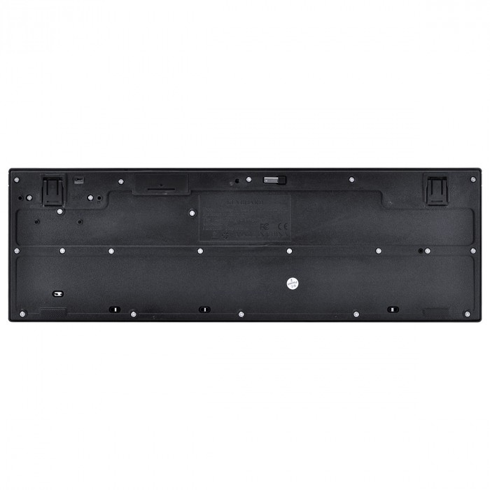 TECLADO E MOUSE SEM FIO USB DYNAMIC CORP ABNT2/1600 DPI PRETO - CMW200