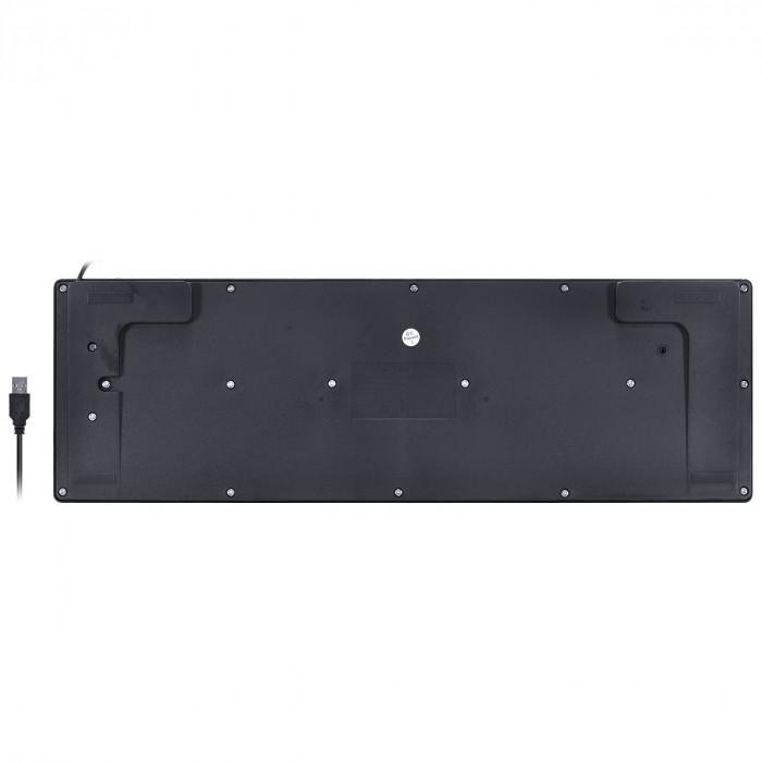 TECLADO USB CHOCOLATE MULTIMIDIA DYNAMIC ABNT2 1.8M PRETO - DT120