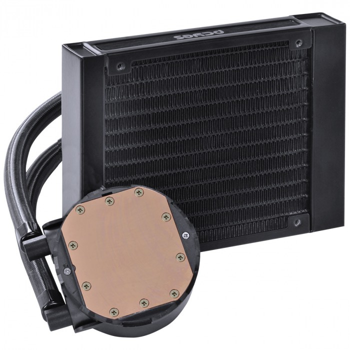 WATER COOLER SANGUE FRIO 2 - 120MM (INTEL/AMD) MANGUEIRAS DE NYLON - TDP 200W - PSF2120H33PTSL