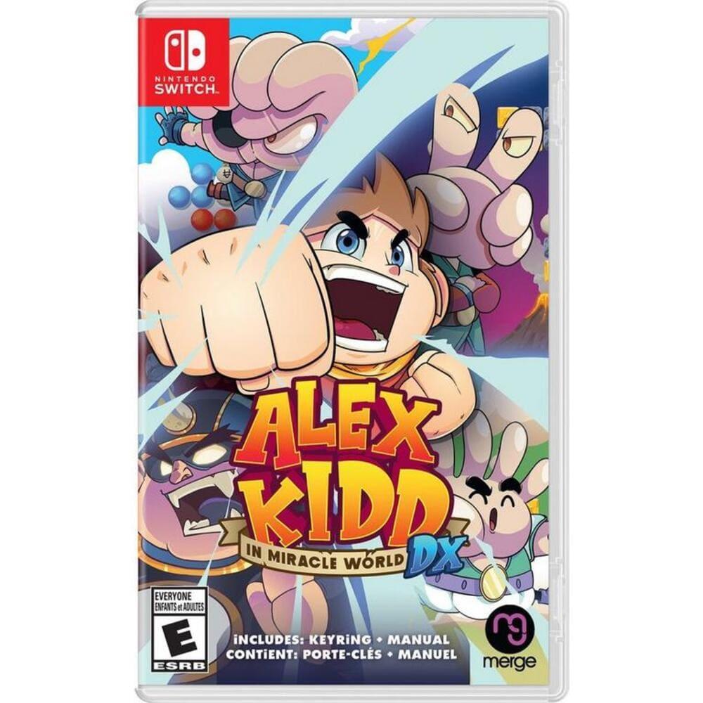 Alex Kidd in Miracle World DX (Pré-venda) - Switch