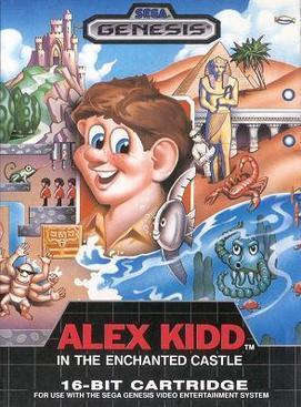 Alex Kidd in the Enchanted Castle (Seminovo) - Mega Drive