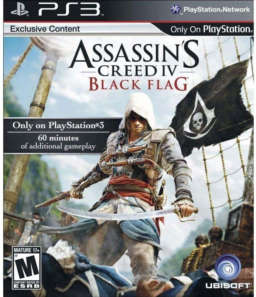 Assassins Creed Black Flag (Seminovo) - PS3