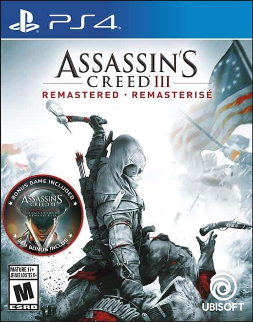 Assassins Creed III (3) Remastered - PS4