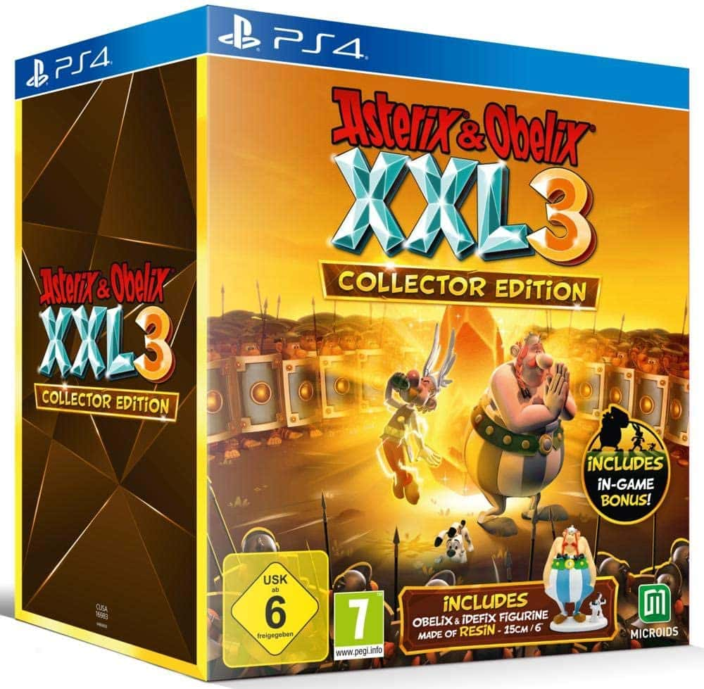 Asterix & Obelix XXL3 The Crystal Menhir Collector's Edition - PS4