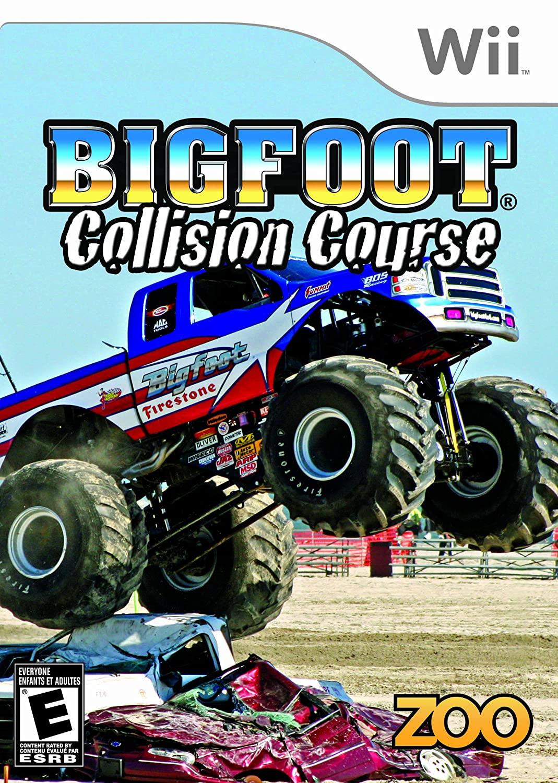 Bigfoot Collision Course (Seminovo) - Wii