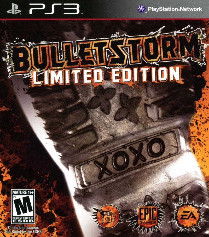 Bulletstorm Limited Edition (Seminovo) - PS3