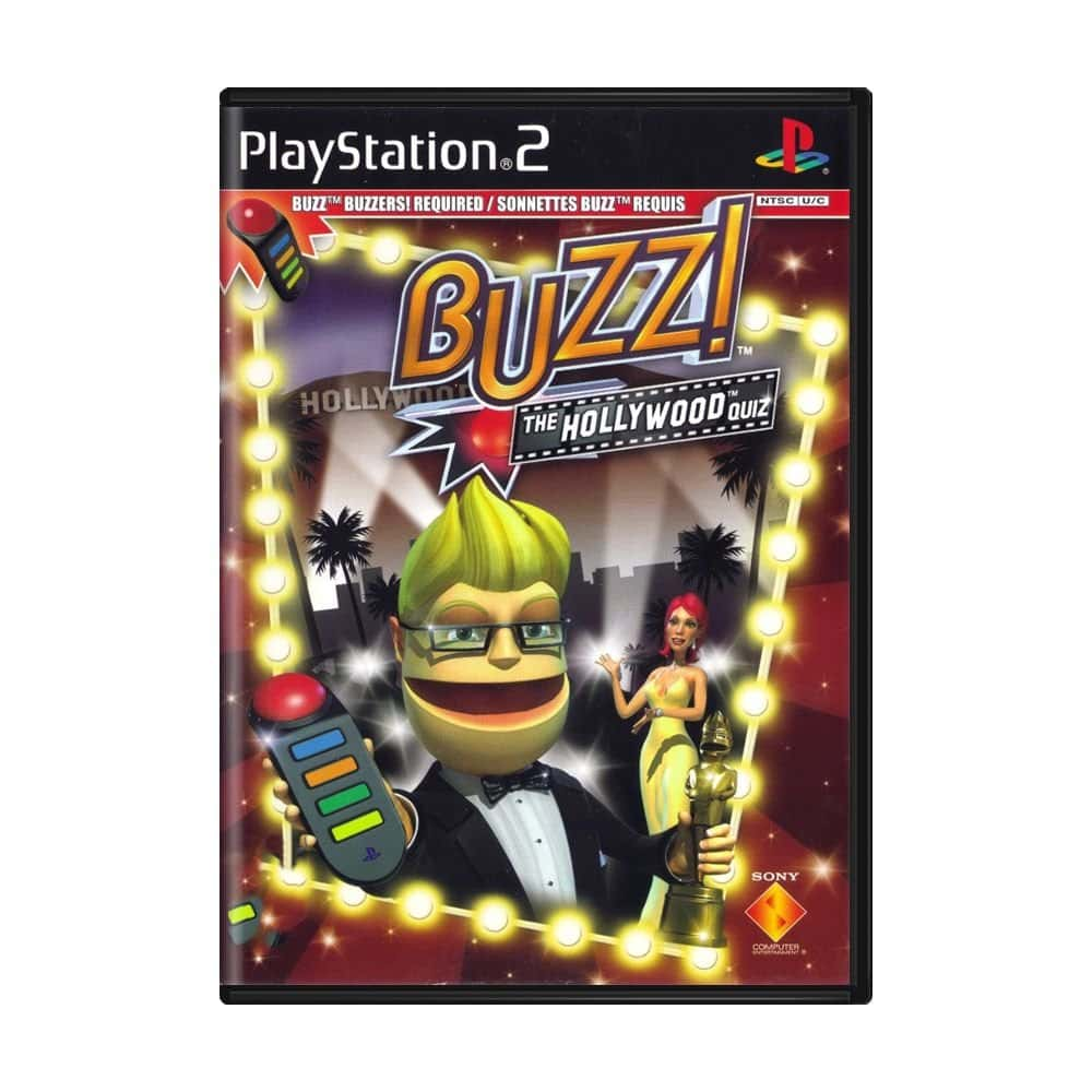Buzz! The Hollywood Quiz (Sem controle) - PS2